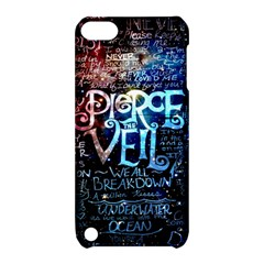 Pierce The Veil Quote Galaxy Nebula Apple Ipod Touch 5 Hardshell Case With Stand