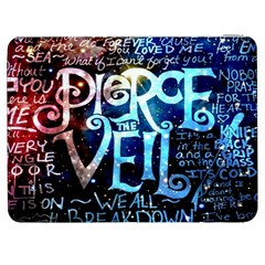Pierce The Veil Quote Galaxy Nebula Samsung Galaxy Tab 7  P1000 Flip Case by Samandel