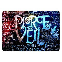 Pierce The Veil Quote Galaxy Nebula Samsung Galaxy Tab 8 9  P7300 Flip Case by Samandel