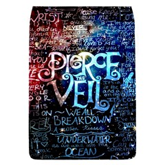Pierce The Veil Quote Galaxy Nebula Flap Covers (l)  by Samandel