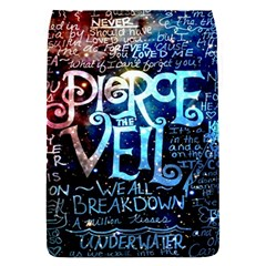 Pierce The Veil Quote Galaxy Nebula Flap Covers (s)  by Samandel