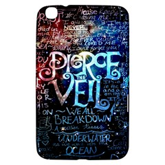 Pierce The Veil Quote Galaxy Nebula Samsung Galaxy Tab 3 (8 ) T3100 Hardshell Case