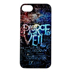 Pierce The Veil Quote Galaxy Nebula Apple Iphone 5s/ Se Hardshell Case by Samandel
