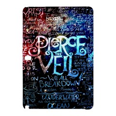 Pierce The Veil Quote Galaxy Nebula Samsung Galaxy Tab Pro 12 2 Hardshell Case by Samandel