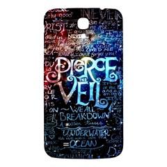 Pierce The Veil Quote Galaxy Nebula Samsung Galaxy Mega I9200 Hardshell Back Case by Samandel