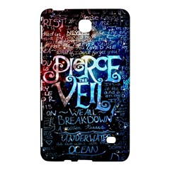 Pierce The Veil Quote Galaxy Nebula Samsung Galaxy Tab 4 (7 ) Hardshell Case  by Samandel