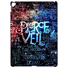 Pierce The Veil Quote Galaxy Nebula Apple Ipad Pro 12 9   Hardshell Case by Samandel