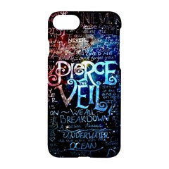 Pierce The Veil Quote Galaxy Nebula Apple Iphone 7 Hardshell Case by Samandel