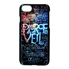 Pierce The Veil Quote Galaxy Nebula Apple Iphone 7 Seamless Case (black) by Samandel