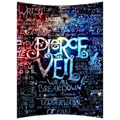 Pierce The Veil Quote Galaxy Nebula Back Support Cushion by Samandel