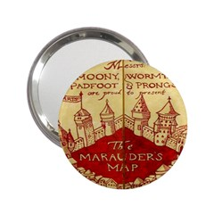 Marauders Map 2 25  Handbag Mirrors