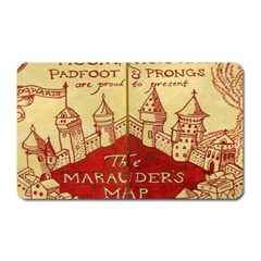 Marauders Map Magnet (rectangular)