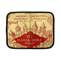 Marauders Map Netbook Case (small)