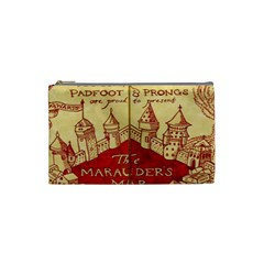 Marauders Map Cosmetic Bag (small)