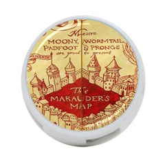 Marauders Map 4 Port Usb Hub (one Side)