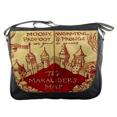 Marauders Map Messenger Bags
