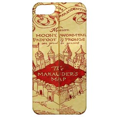 Marauders Map Apple Iphone 5 Classic Hardshell Case