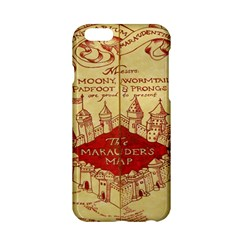 Marauders Map Apple Iphone 6/6s Hardshell Case