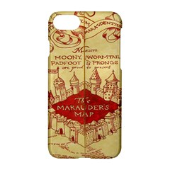 Marauders Map Apple Iphone 7 Hardshell Case