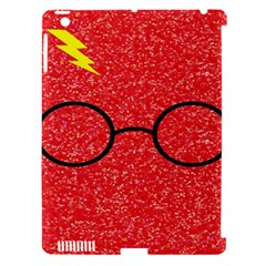 Glasses And Lightning Glitter Apple Ipad 3/4 Hardshell Case (compatible With Smart Cover)