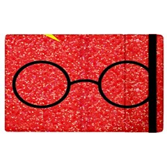 Glasses And Lightning Glitter Apple Ipad 3/4 Flip Case