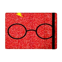 Glasses And Lightning Glitter Ipad Mini 2 Flip Cases
