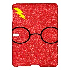Glasses And Lightning Glitter Samsung Galaxy Tab S (10 5 ) Hardshell Case