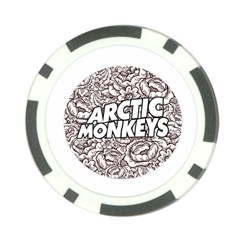 Artic Monkeys Flower Circle Poker Chip Card Guard