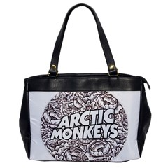 Artic Monkeys Flower Circle Office Handbags