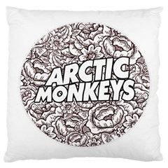 Artic Monkeys Flower Circle Large Cushion Case (one Side)