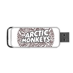 Artic Monkeys Flower Circle Portable Usb Flash (two Sides) by Samandel