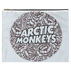 Artic Monkeys Flower Circle Cosmetic Bag (xxxl)