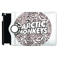 Artic Monkeys Flower Circle Apple Ipad 2 Flip 360 Case