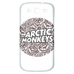 Artic Monkeys Flower Circle Samsung Galaxy S3 S Iii Classic Hardshell Back Case by Samandel