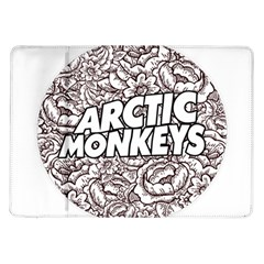 Artic Monkeys Flower Circle Samsung Galaxy Tab 10 1  P7500 Flip Case