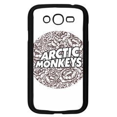 Artic Monkeys Flower Circle Samsung Galaxy Grand Duos I9082 Case (black)