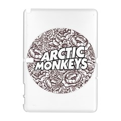Artic Monkeys Flower Circle Galaxy Note 1