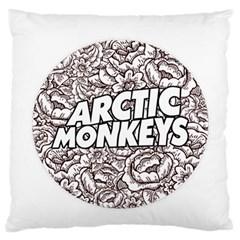 Artic Monkeys Flower Circle Standard Flano Cushion Case (one Side) by Samandel