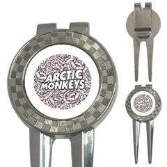 Arctic Monkeys Flower Circle 3 In 1 Golf Divots