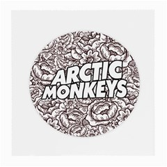 Arctic Monkeys Flower Circle Medium Glasses Cloth (2 Side)
