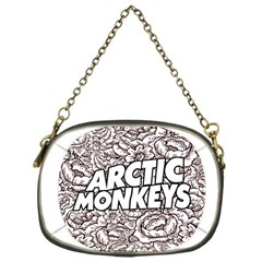 Arctic Monkeys Flower Circle Chain Purses (one Side)