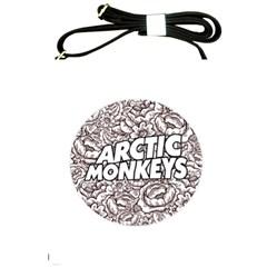 Arctic Monkeys Flower Circle Shoulder Sling Bags by Samandel