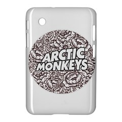 Arctic Monkeys Flower Circle Samsung Galaxy Tab 2 (7 ) P3100 Hardshell Case
