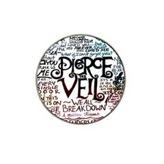 Pierce The Veil Galaxy Hat Clip Ball Marker (4 Pack)