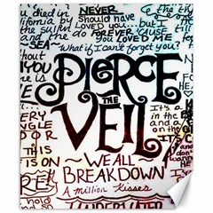 Pierce The Veil Galaxy Canvas 8  X 10