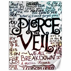 Pierce The Veil Galaxy Canvas 12  X 16   by Samandel