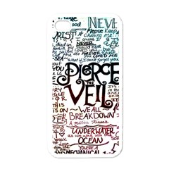 Pierce The Veil Galaxy Apple Iphone 4 Case (white) by Samandel
