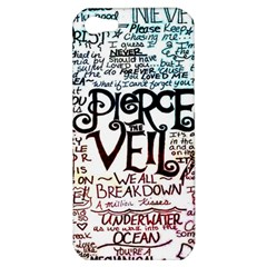 Pierce The Veil Galaxy Apple Iphone 5 Hardshell Case by Samandel