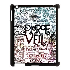 Pierce The Veil Galaxy Apple Ipad 3/4 Case (black) by Samandel