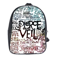 Pierce The Veil Galaxy School Bag (xl)